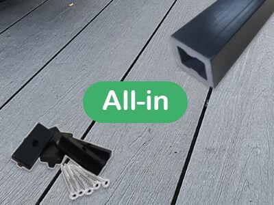 All-in terrasplanken per m²