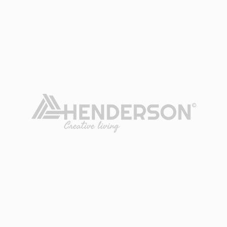 Eiken tafel rond met kruispoot 140 centimeter diameter