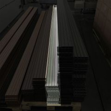 Outletpakket 10   Vlonderplanken Stone Grey 400x14,5x2,1 cm