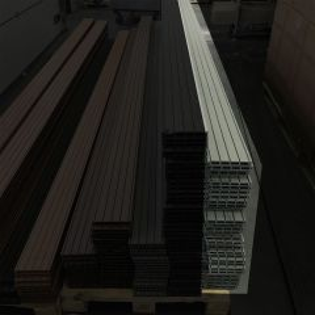 Outletpakket 7 | Vlonderplanken LeigrijsXL 400x15x2,1 cm