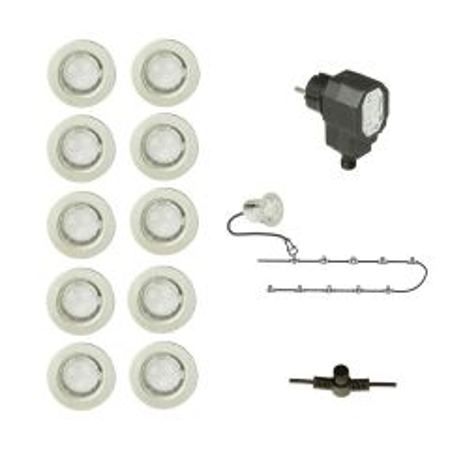 spots vlonderterras LED
