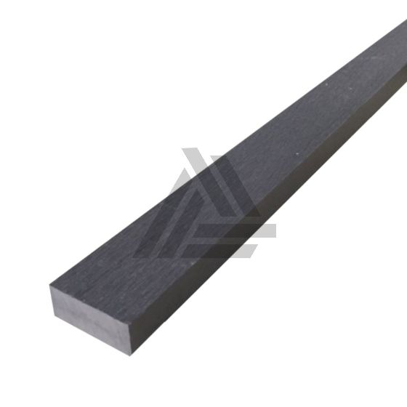 Afwerklijst / Onderbalk Antraciet Composiet 220x5x2 cm
