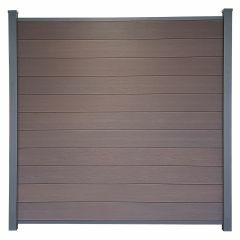 Guardener Schutting Espresso Brown Co-extrusion 180x180 cm
