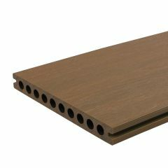 Vlonderplank Fun-Deck Teak Co-extrusion 400x21x2,3 cm  (per m²)
