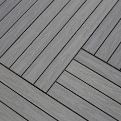 Tegel Fun-Deck Multigrey Light Co-extrusion 30x90x2,2 cm