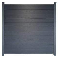 Guardener Schutting Smokey Black Co-extrusion 180x180 cm
