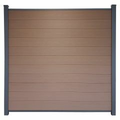 Guardener Schutting Tropical Teak Co-extrusion 180x180 cm