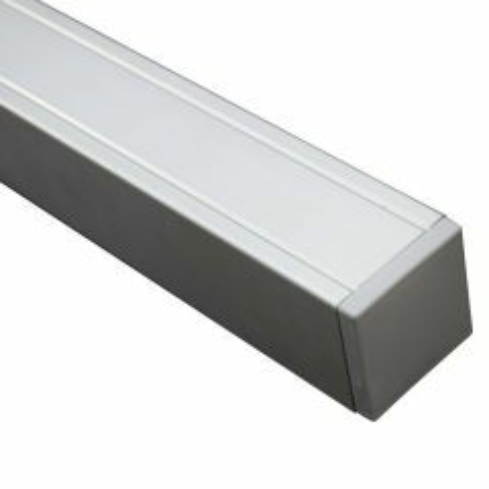 Tuinpaal Aluminium met houten kern 270x7x7 cm