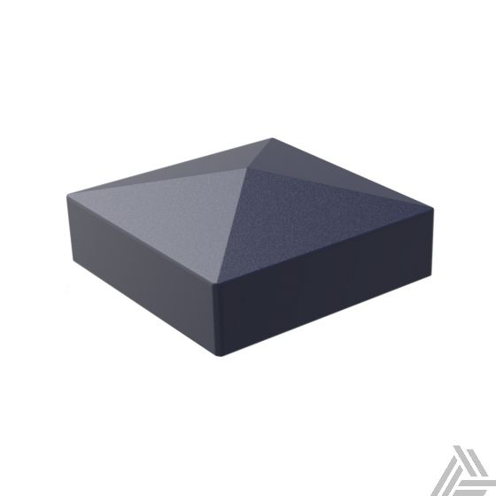 Guardener Afdekkapje Tuinpaal Antraciet Aluminium