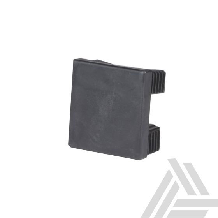 Afdekkapje Tuinpaal Modulair Antraciet Aluminium