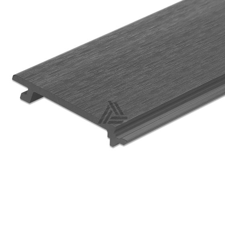 Rabatdeel Antraciet Composiet Co-Extrusion 400x15,6x2,1 cm (per m²)