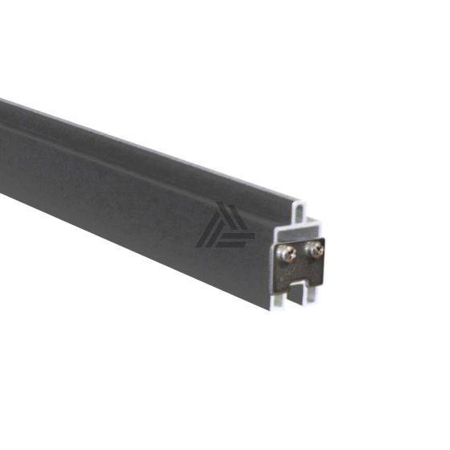 Guardener Onderprofiel schutting Antraciet Aluminium