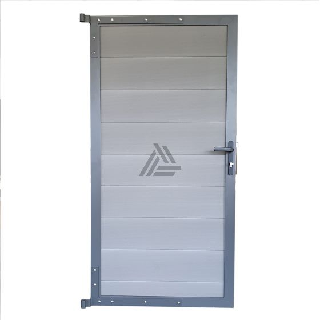 Modulair Tuindeur Composiet Stone Grey 90x180 cm - incl. hang- en sluitwerk