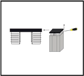 Stap 1 paalverlichting